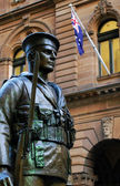 ANZAC soldier — Stock Photo