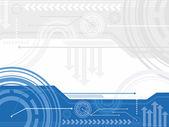 Technology inspired background — Stock Vector