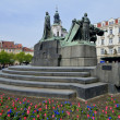 Jan Hus monument — Stock Photo