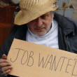 job wanted — Stock Photo