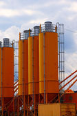 Cement plant factory — Stock Photo