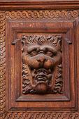 Sculpture sur bois — Photo