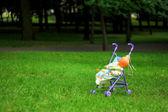 Baby wandelwagen — Stockfoto