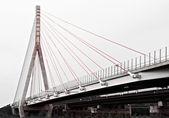 Ponte sobre o rio elba — Fotografia Stock