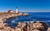 портленд head lighthouse — Стоковое фото