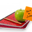 Back to school note — Stock Photo