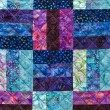 Colorful quilting pattern — Stockfoto