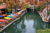 River walk in san antonio (Texas) — Stockfoto