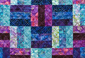 Colorful quilting pattern — Stock Photo