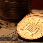 British money — Stock Photo