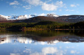 Scottish loch — Stock Photo