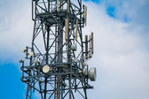 Communication mast — Stock Photo