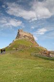 Lindisfarne kalesi — Stok fotoğraf