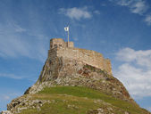Lindisfarne Castle — Stock Photo