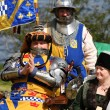 Medieval King and Queen - Stock Photo