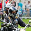 Royal British Legion Riders — 图库照片