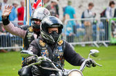 Royal British Legion Riders — Stock Photo