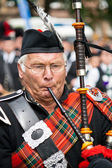 Bagpiper — Stock Photo