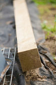 Wooden batten — Stock Photo