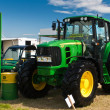 Stock Photo: John Deere tractor