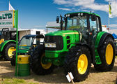 John Deere tractor — Stock Photo