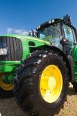 John Deere tractor — Stock Photo