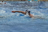 A swimmer — Stock Photo