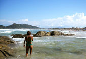 Mariscal beach — Stock Photo