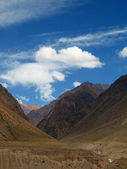 Way to Aconcagua — Stock Photo