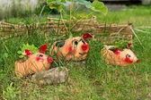 Tre porcellini — Foto Stock
