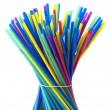 Plastic straws — Stock Photo