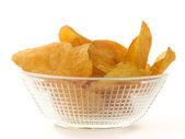 Chips in a bowl — ストック写真