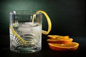化学需氧量伏特加、 酒精饮料、 艺术背景 — 图库照片