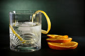 Kabeljau, wodka, alkohol, hintergrund kunst — Stockfoto