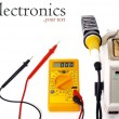 Stock Photo: Electronics DIY tools