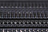 Closeup on a pcb board — Stock Photo