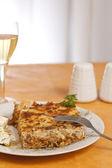 Pastitsio, Greek food — Stock Photo