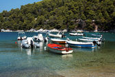 Boats in Skopelos — Stock Photo