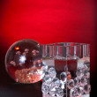Crystal decoratives for home - Foto Stock