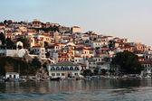 Skopelos island at evening — Stock Photo