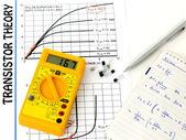 Study transistors — Stock Photo