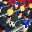 Stock Photo: Foosball game table