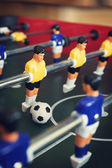 Foosball game table — Stock Photo