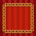 Gold frame — Stock Photo #11428654