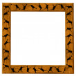 Stock Photo: Wooden brown framework