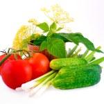 Natürmort gelen domates — Stok fotoğraf