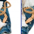 Jeans background — Stock Photo #11433950