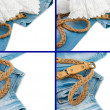 Jeans background — Stock Photo #11434174