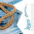 Jeans background — Stock Photo #11434275