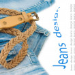 Jeans background  — Stock Photo #11434312